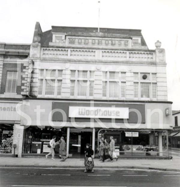 Stockton High Street C1985 Picture Stockton Archive